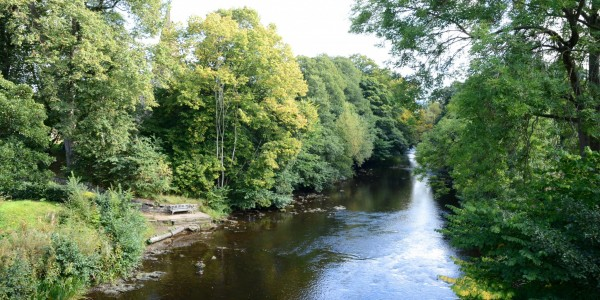 River Derwent from the Toll Bridge