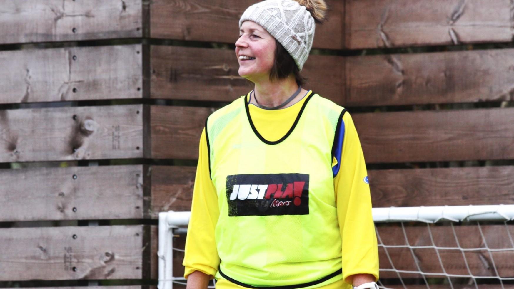 Women's Walking Football Kicks Off In Baslow