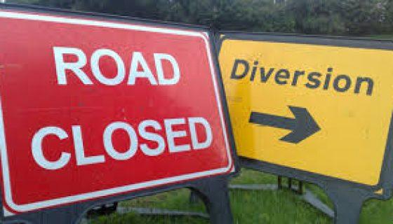 A619 Baslow-Holymoorside Road Closure