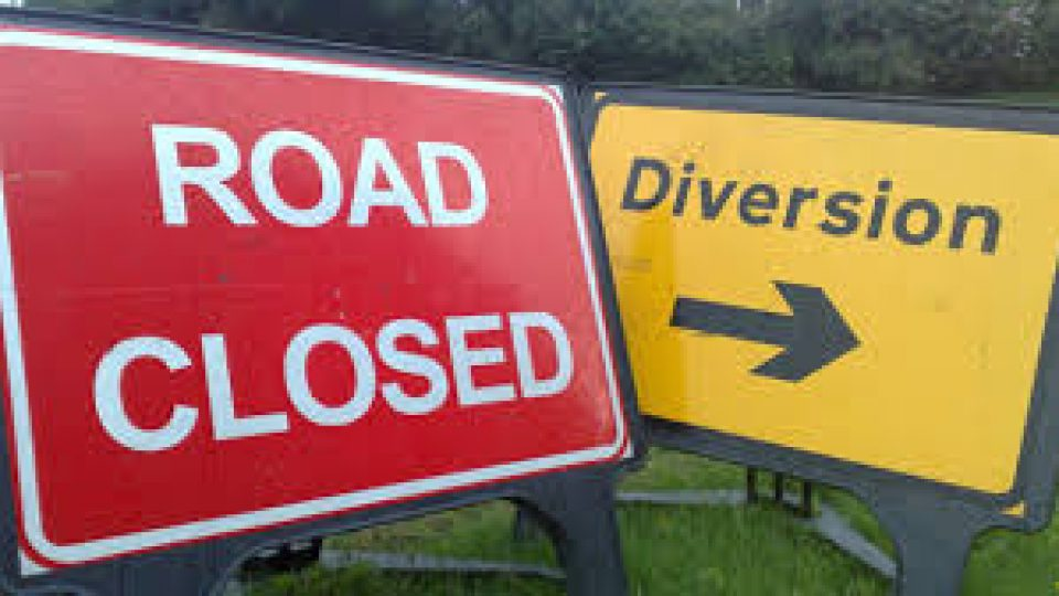 A619 Baslow-Holymoorside Road Closure
