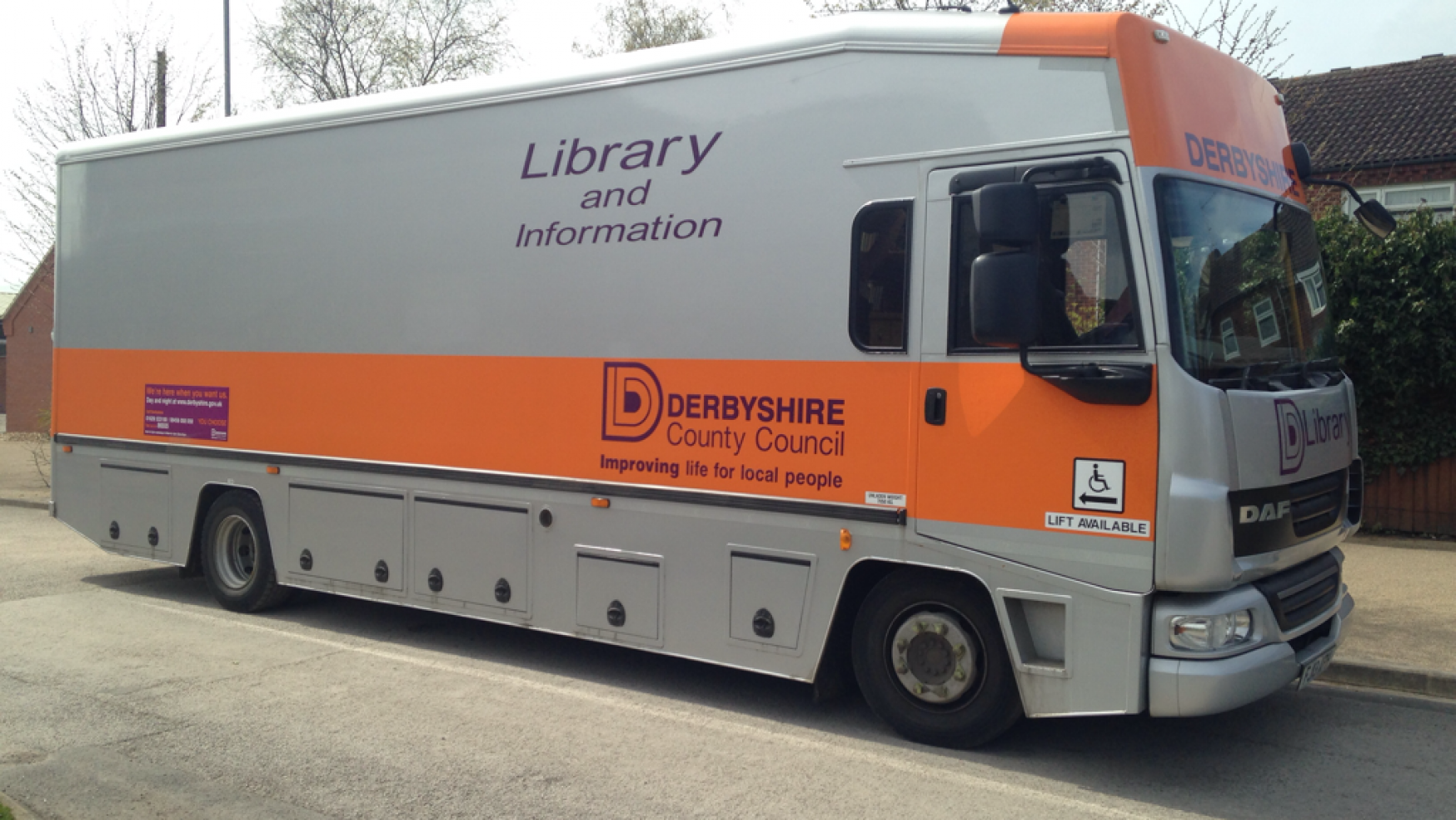 Mobile Library: Baslow, Feb-April 2018