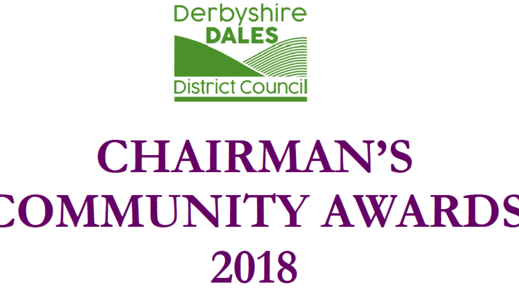 Recognising volunteers in the Derbyshire Dales