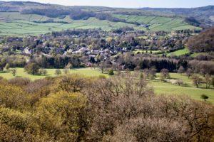 View of Baslow Village